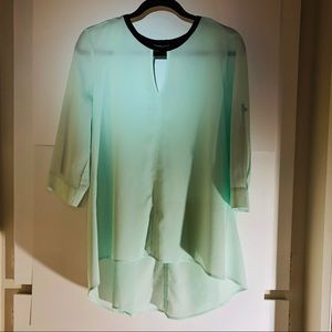 New York & Co Tunic Style Blouse